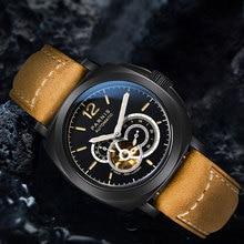 Luxury PARNIS Super Luminous marks 2019 Top Brand mens Wristwatches Sapphire Glass Fashion Miyota Automatic Movement men's Watch все цены