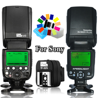 INSEESI IN 560IV IN560IV Plus&Pixel High Speed Wireless Flash Speedlite&TF 325 Hot Shoe Adapter For Sony A58 A6000 A7s A7rA7r II