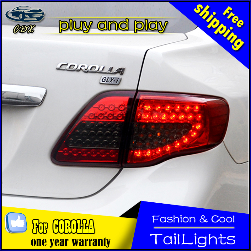Car Styling Tail Lamp for Toyota Corolla LED Tail Light 2014-2016 New Altis LED Rear Lamp LED DRL+Brake+Park+Signal Stop Lamp union car styling for 2014 corolla taillights new corolla altis led tail lamp altis rear lamp drl brake park signal led light