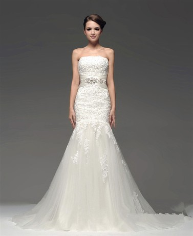 bridal gown 2018 new fashion casamento romantic vestidos de novia crystal tulle  long mother of the bride dresses