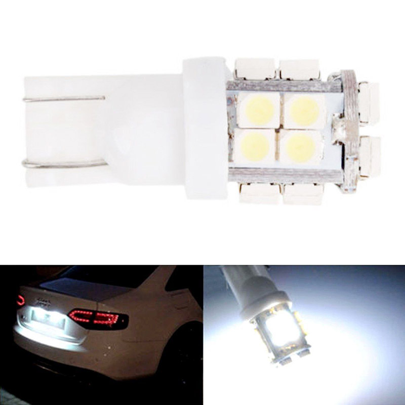 10pcs T10 W5W 194 168 2825 20SMD 1210 LED Bulb Super Bright Car Clearance Lights White Bulb for Car Light Source