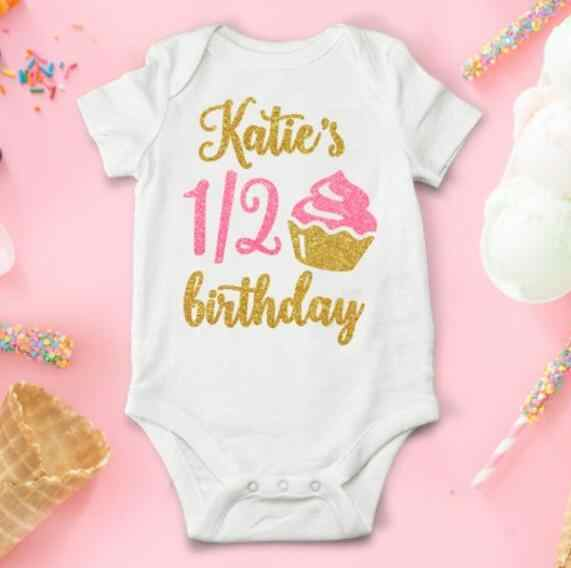Baby Grow Vest 1st Birthday T-shirt Number One Vest Cake Smash First Birthday Personalised One Vest One Vest Top First Birthday Vest