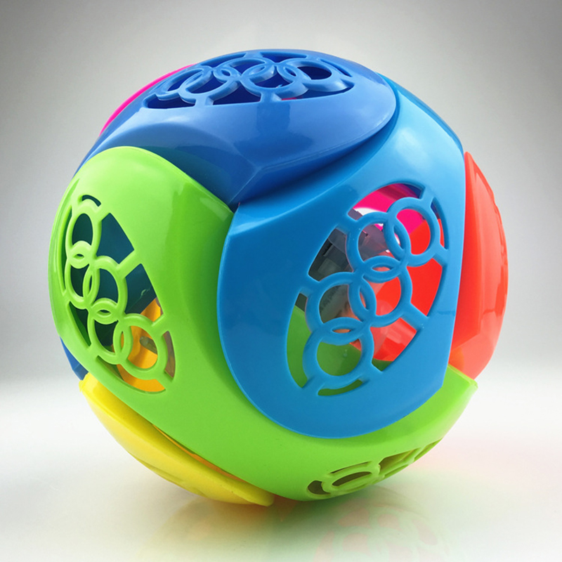 1Pcs Light Music Bouncing Ball Baby Kids Creative Learning Power Gift Flash Music Jump Rotate Hot Electric Dancing Ball Toy