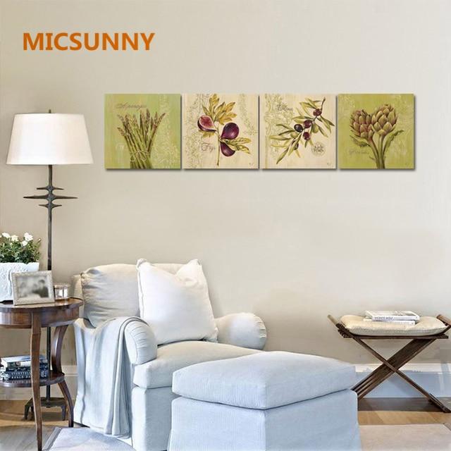 MICSUNNY Home Art Decor Plantas Pinturas Para Comedor Cocina ...