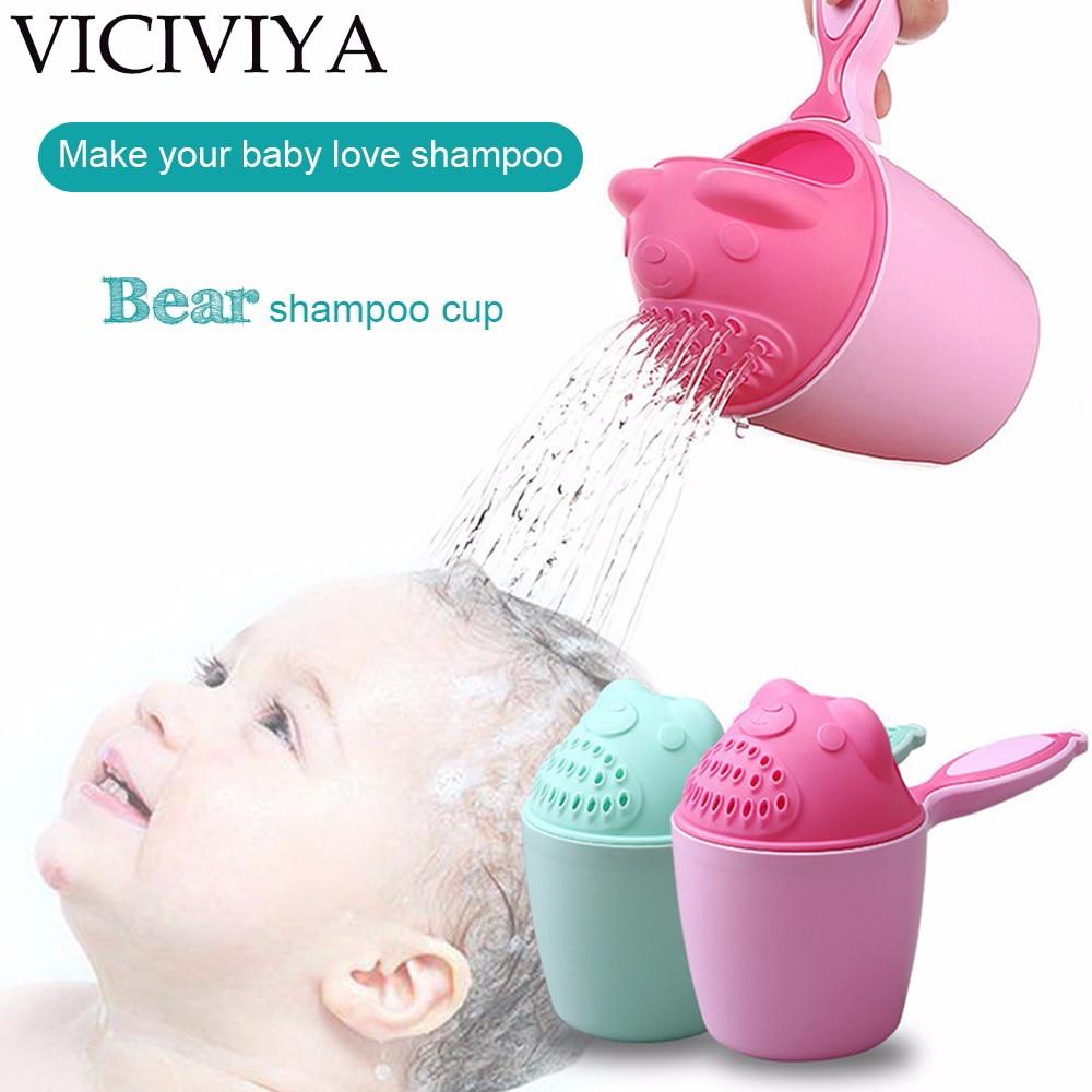 VICIVIYA Newborn baby shampoo cup 2 Colors Baby Kid