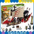 680 шт. Бела 9762 Ниндзя Судьбы bounty Дракон Лодка Модель Здания Действие Игрушки Совместимость С Lego