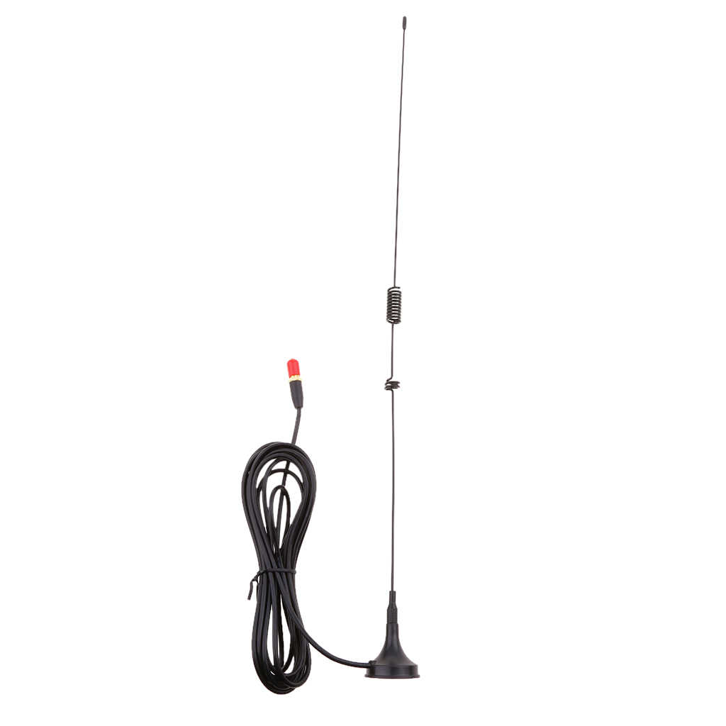 SMA-F UHF + VHF מגנטי רכב רדיו אנטנה לbaofeng שתי דרך רדיו UV-5R ווקי טוקי
