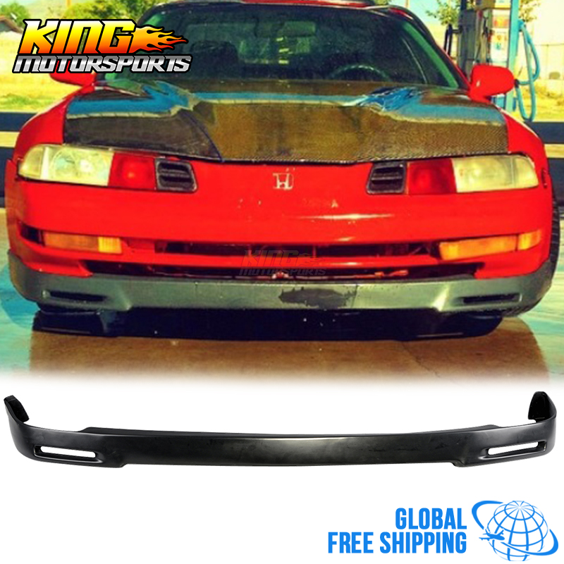 For 1992 1996 Honda Prelude P1 Racing Front Bumper Lip Urethane Global Free Shipping Worldwide