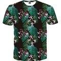 2017 Newest Style Flowers Print 3D T-Shirt Women t shirt Short Sleeve Casual Summer t-shirts Women's Hot Tops Tees M-4XL