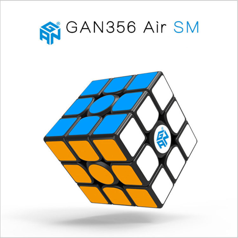 GAN 356 AIR SM 3x3x3 Magnetic Puzzle Magic Cube Professional Competition Smooth Speed Twist Cube Magico For Children Toys Gifts