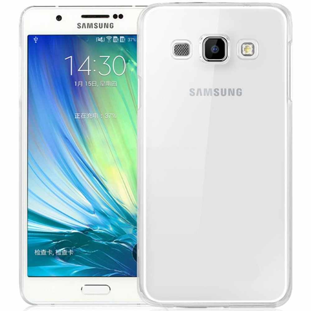 Transparent Back Case For Samsung Galaxy J1 J3 J5 J7 A3 A5 A7 2015/6/7 A8 A9 J1 Ace J2 S8 Plus C9 Pro soft Gel TPU cover shell