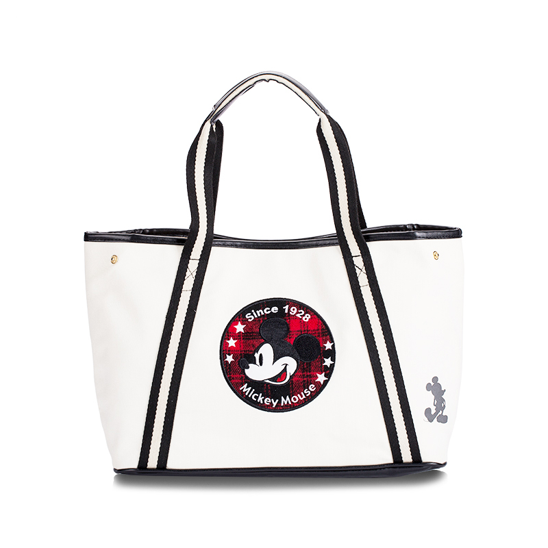 Genuine Disney PU Leather Mickey Multi-function Women Bag  Cosmetic Wallet Purse Bag Fashion Mummy Handheld