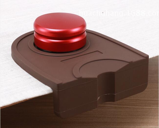Espresso Coffee tamper mat Silicon corner mat Espresso Portafilter Tamper Tamping Mat Holder Silicone Pad Mat