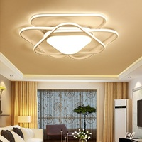 LED profiled postmodern home ceiling light Living room bedroom study restaurant aisle ceiling lamp Commercial Lighting