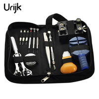 Urijk 13Pcs Set Professional Hand Tool Watch Tools Kits Mechanical Watch Repair Tools Case Opener Link
