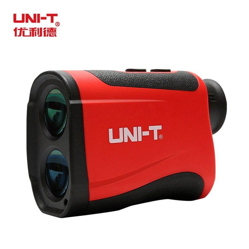 UNI-T лазерный дальномер для гольфа LM1000 лазерный дальномер телескоп дальномер высота угол