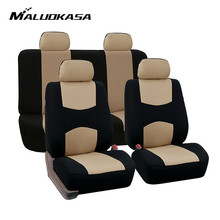 Car Seat Covers Set Universal Autocovers Front Rear Car-Styl