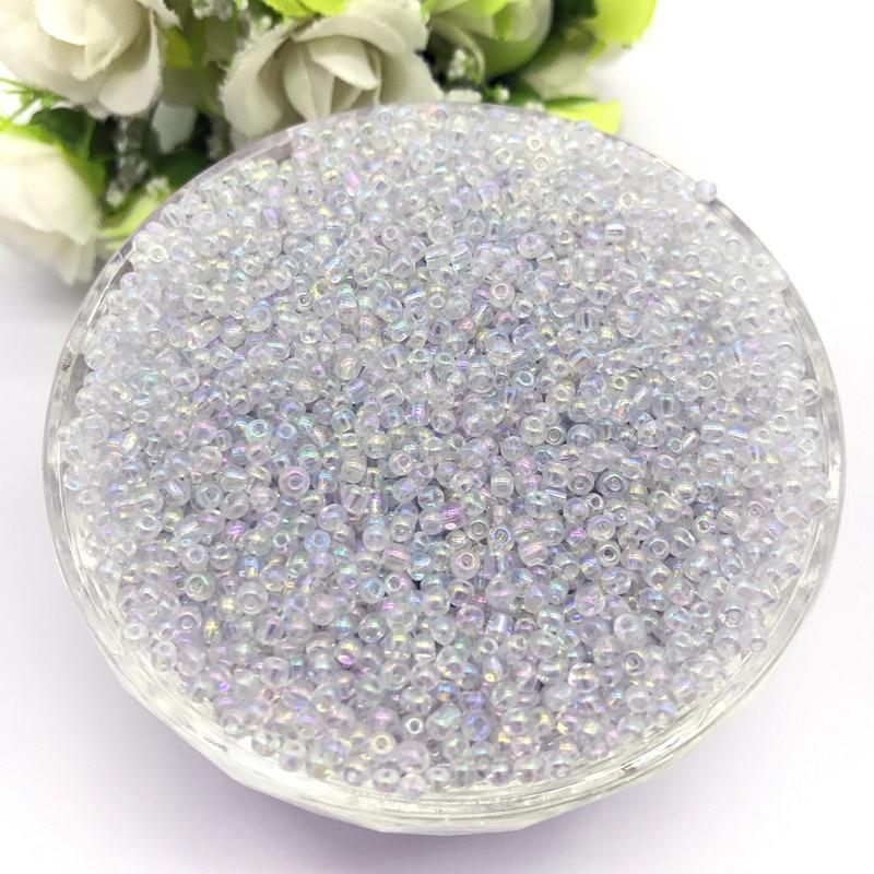 1000 шт 2 мм очаровательный чешский стеклянный бисер DIY браслет ожерелье для изготовления ювелирных изделий Аксессуары - Цвет: 57