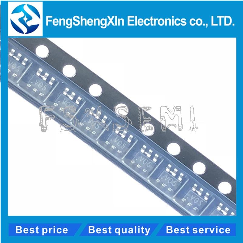 10pcs SRV05-4 SOT23-6 V05 Low Capacitance TVS and Diode Array