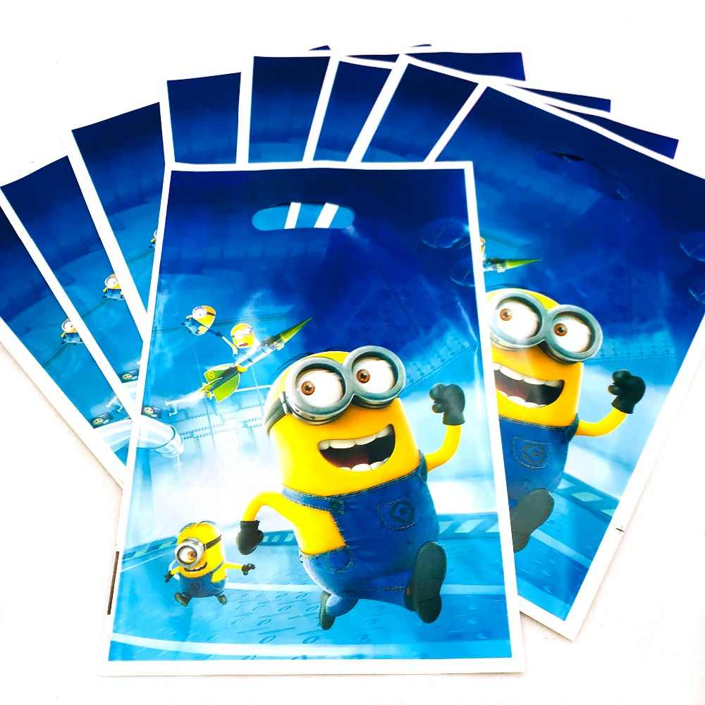 Detail Feedback Questions About 10pcs Minions Gift Bag 1st Birthday