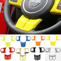 Newest Hot Fashion Steering Wheel Cross Cover Trim Molding Interior  Accessories ABS For Jeep Grand Cherokee 11 Up Free Shipping