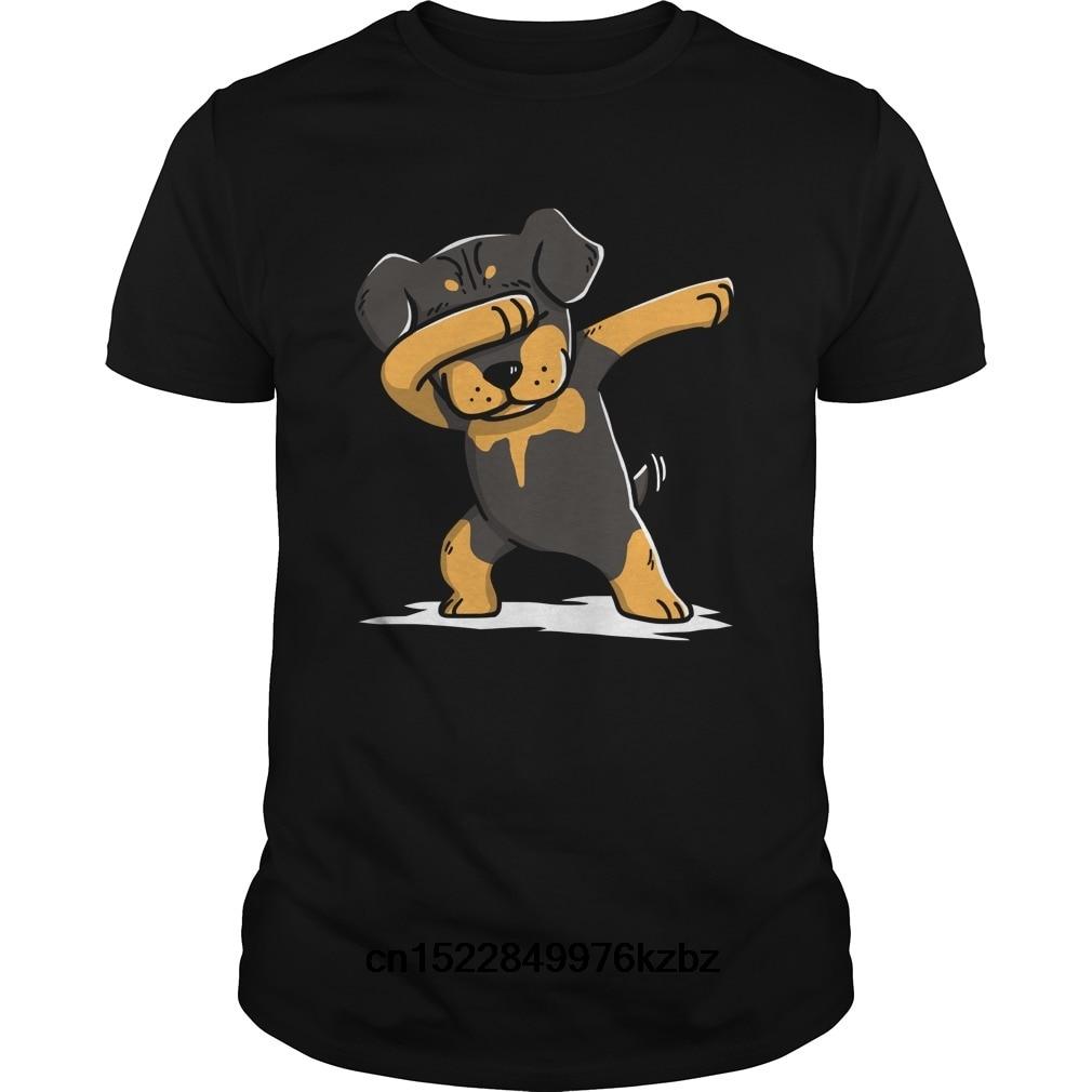 88dfa2d48eb Funny Men t shirt Women novelty tshirt Funny Rottweiler Dab Shirt cool  T-Shirt