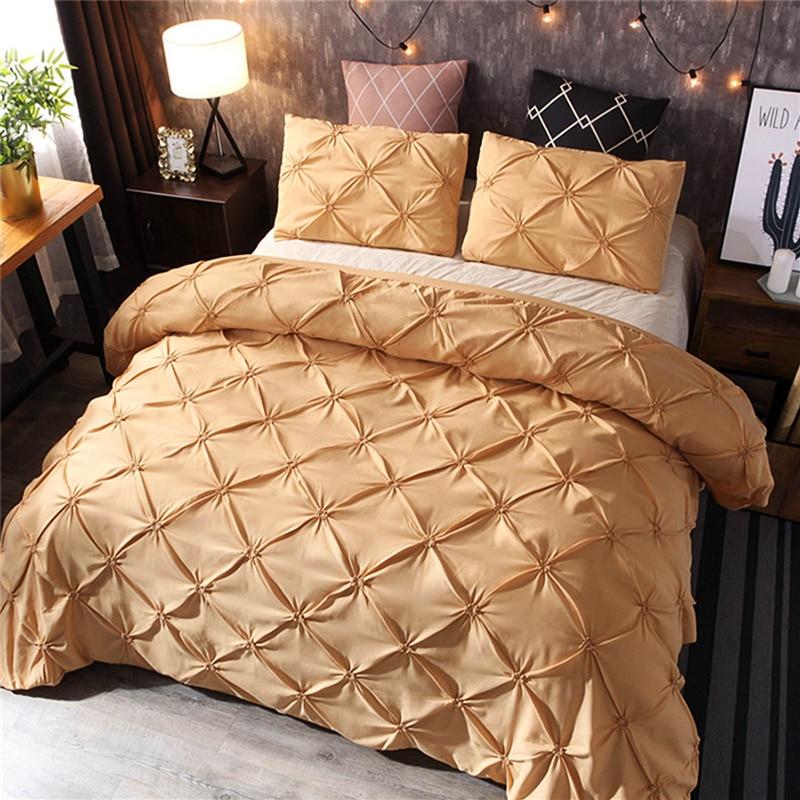 Image 3 - LOVINSUNSHINE Comforter Set King Size Luxury Bedding Sets Purple Duvet Cover AB#137Bedding Sets   -
