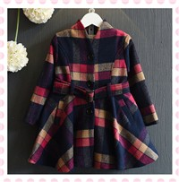 Girls-Winter-Dress-Brand-Baby-Girls-Clothing-Kids-Dresses-A-line-Plaid-Printed-Children-Dress-Warm
