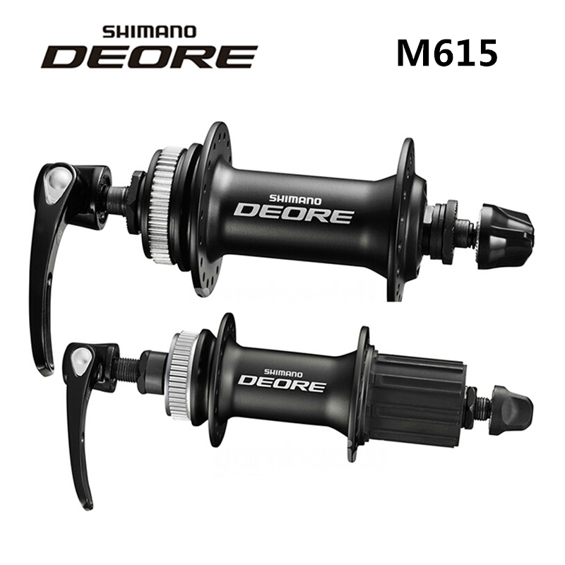 shimano DEORE M615 32H Center Lock Bicycle Hub Front & Rear MTB Mountain Bike Disc Brake Parts