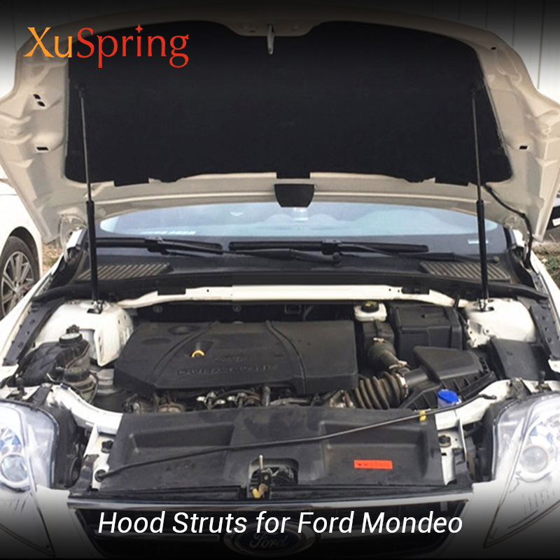 Car Hood Strut Support Lifter Shock Bars Rod No Drilling Welding for ford Mondeo Contour Fusion