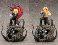 [Funny] 22cm Fullmetal Alchemist Auto Mail Edward Elric Alphonse Elric Japanese Manga PVC Action Figure Collectible Model Toy