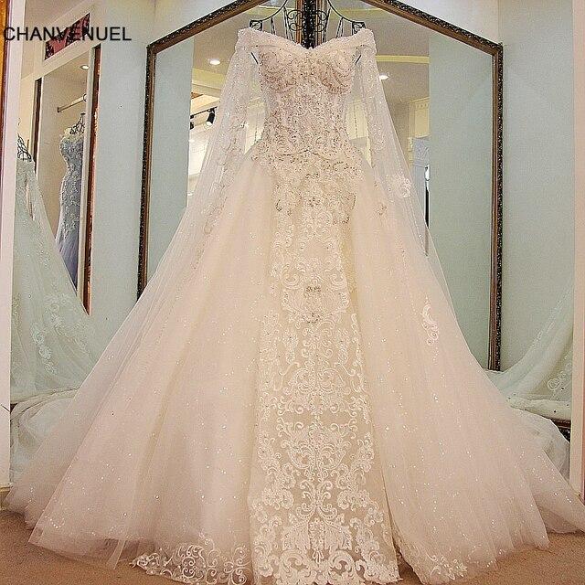 ls45880 dropshipping vestido de boda al por mayor de la demostración