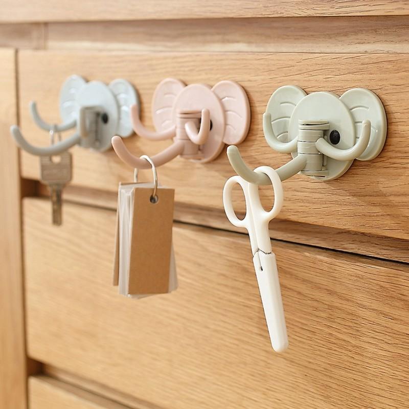 Creative elephant nose hooks for hanging modeling wall decoration coat holderS!