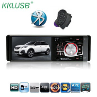 Newest 1 DIN Car Radio 4012B HD 4 1 Inch Digital Screen Stereo Music FM Bluetooth