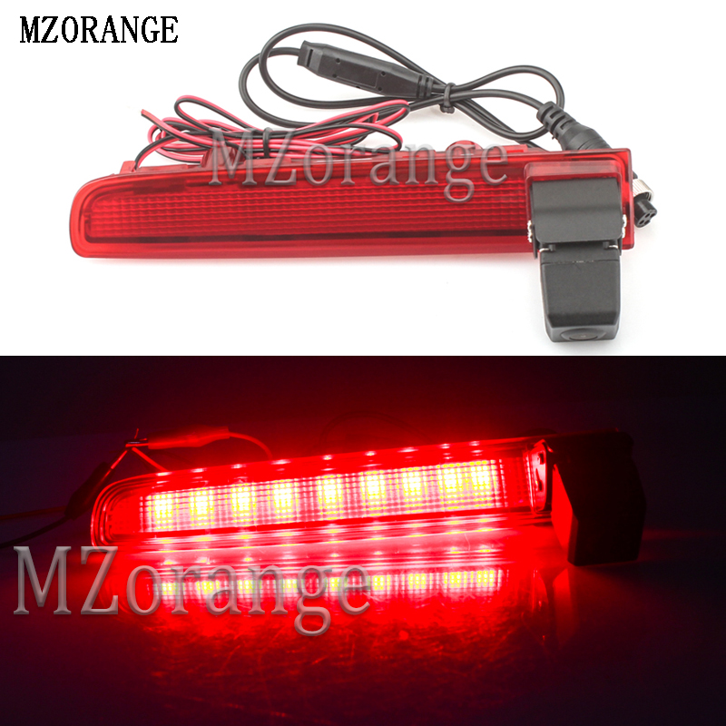 MZORANGE 170 Degree Rear View Camera Car Reversing Backup Third Brake Light Additional For VW Transporter