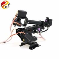 Open Source APP&PS2 Control 7 Dof Robotic Arm Robot Model with 7pcs Metal Gear Servos 360 Degree Rotating Base