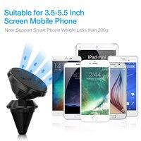 RAXFLY вентиляционное отверстие автомобильный держатель телефона для iPhone Xiaomi huawei автомобильный держатель магнитный для samsung S8 S9 плюс Примечание 8 9 Телефон Магнит Стенд