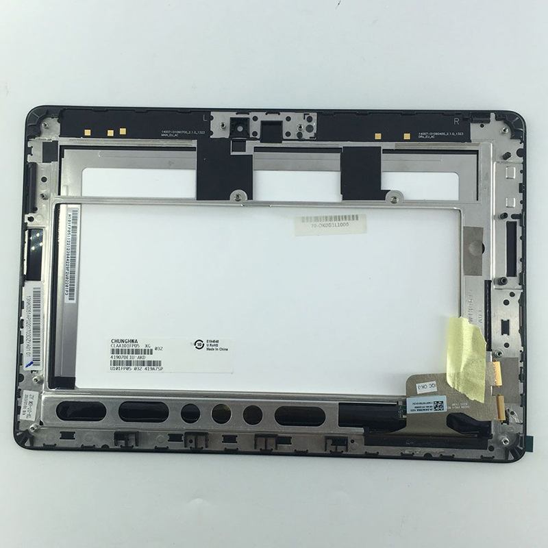 Small scratches part 10.1'' inch LCD Display Touch Digitizer Screen Assembly With Frame for ASUS MeMO ME302KL K005 5425N new 8 inch for asus memo pad 8 me180 me180a digitizer touch screen with lcd display assembly frame