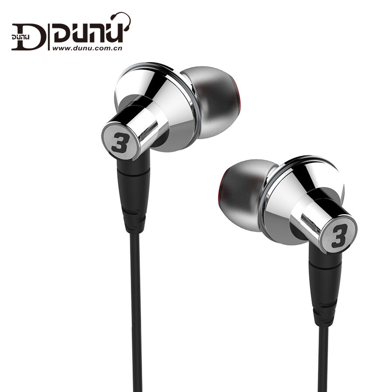 DUNU TITAN 3 HiFi Inner ear Earphone Titanium Diaphragm Dynamic High Fidelity Earphones TITAN3 TITAN 3