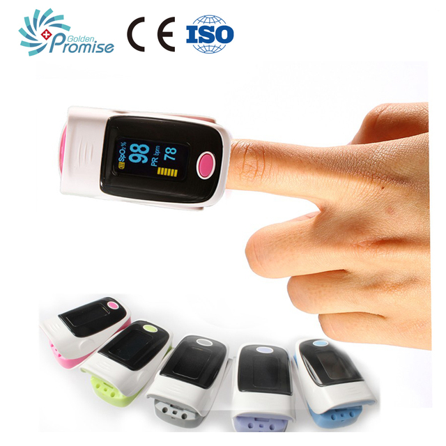 New Arrival Automatic Heart Rate Monitor Pulse Oximeter SPO2 PR with Alarm Clocks Health Oximetro CE FDA Approved