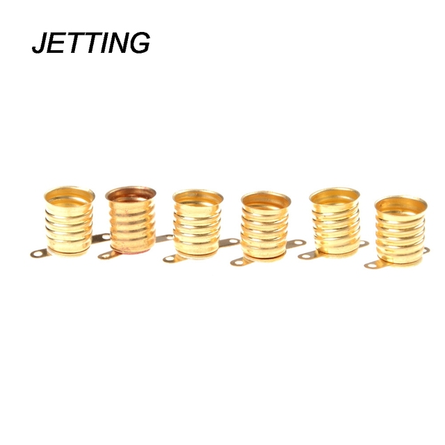 JETTING 5PCS E10 Lamps Base Holder Bulbs Light Base Socket Home Experiment Circuit Electrical Test Accessories