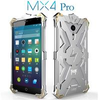 Luxury For Meizu MX4 Pro Back Cover Simon THOR IRONMAN Shockproof Metal Aluminium Frame Anti Knock