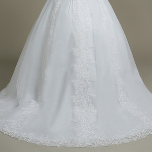 Image 5 - QQ Lover kapalı omuz düğün elbisesi Vestido De Noiva tekne boyun gelin gelinlik
