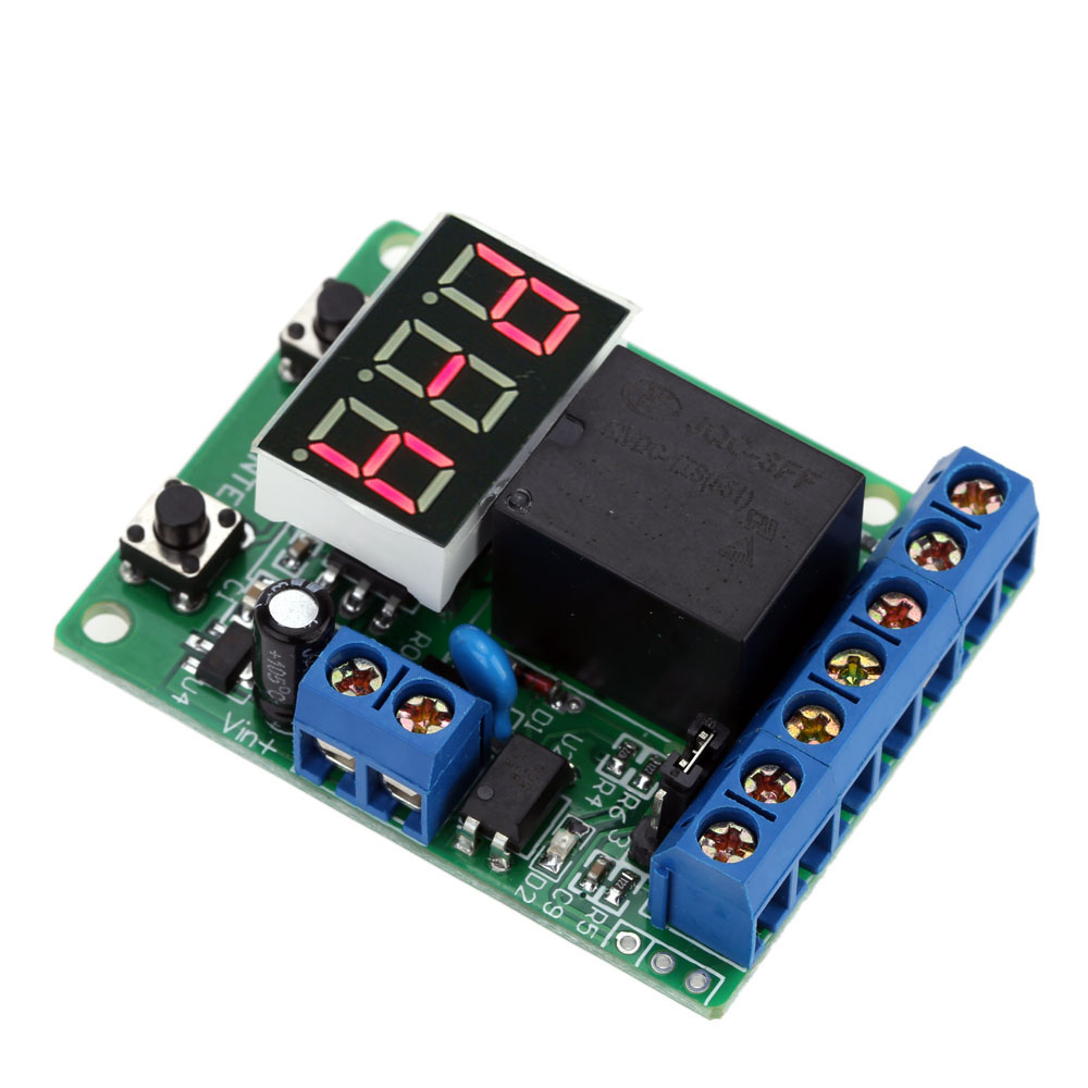 Multifunction Relay Control Module Plc Counting Cycle Timer Control Module  12v Dc Relay Delay Time Switch