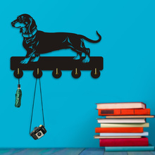 Creative Dog Theme Wall Hanger Hooks For Clothing