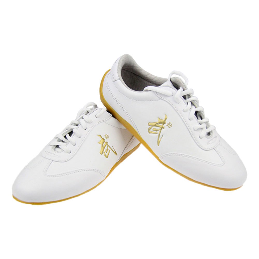 G-LIKE Tai Chi Kung Fu Shoes - Martial Art Wushu Beijing Trainer Wing Chun with Classic and Rubber Wu Logo for Men Women ...