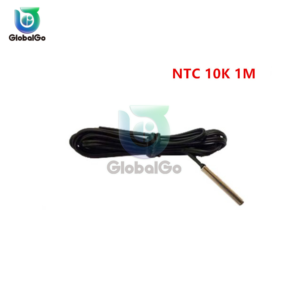 W3230 светодиодный цифровой термостат для контроля температуры AC/DC 12в AC 110в 220в 20A Мини светодиодный дисплей термостата водонепроницаемый зонд - Цвет: NTC 10K 1M