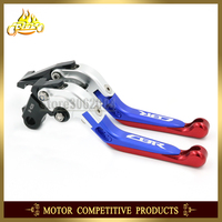 Folding Extendable Adjustable Motorcycle Brakes Clutch Levers For HONDA CBR600 CBR F2 F3 F4 F4I 1991 2007 2006 2005 2004 2003