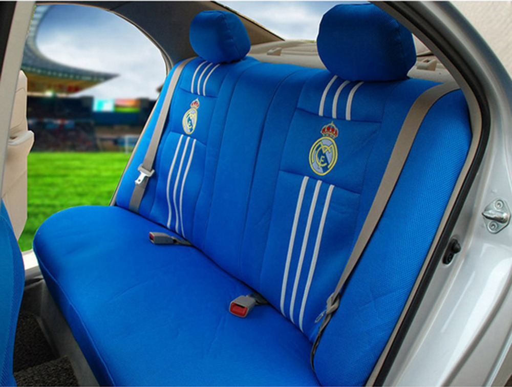 Groovy 1 Sets Football Fans Car Seat Covers Car Steering Wheel Beatyapartments Chair Design Images Beatyapartmentscom