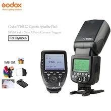 Godox TT685O Câmeras Flash Speedlite HSS 0.1-2.s XPro-O Tempo de Reciclagem + Godox Dispara TTL-Converter-Função Manual Para Olympus